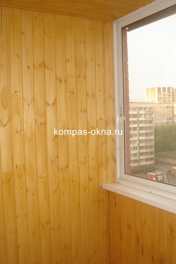 Остекление, отделка балконов и лоджий фото.