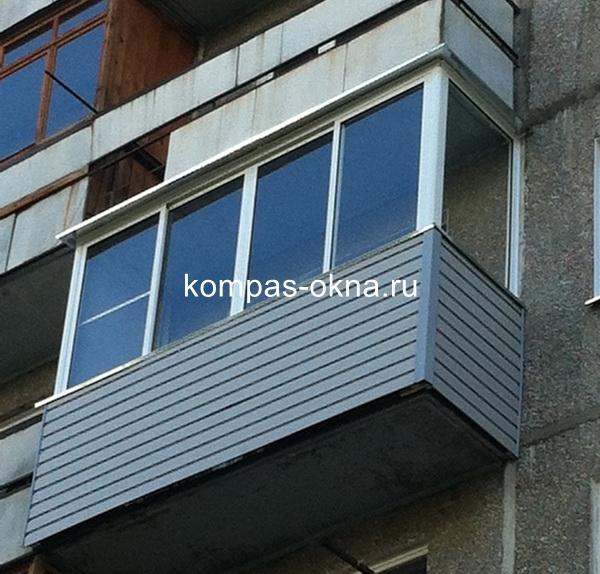 Остекление балконов в новосибирске отделка балконов, лоджий,.