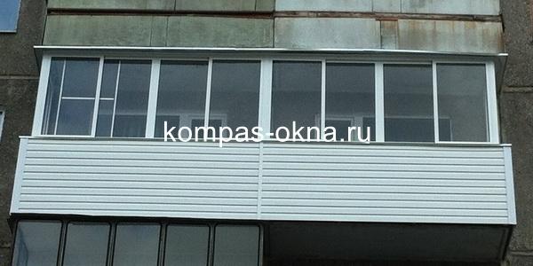 Алюминиевое остекление балконов и лоджий застеклить балкон, .